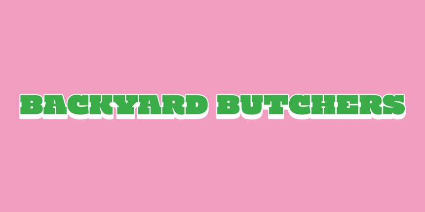 BACKYARD BUTCHERSロゴ