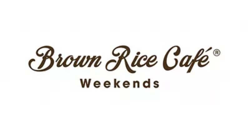 Brown Rice Cafe Weekends ロゴ