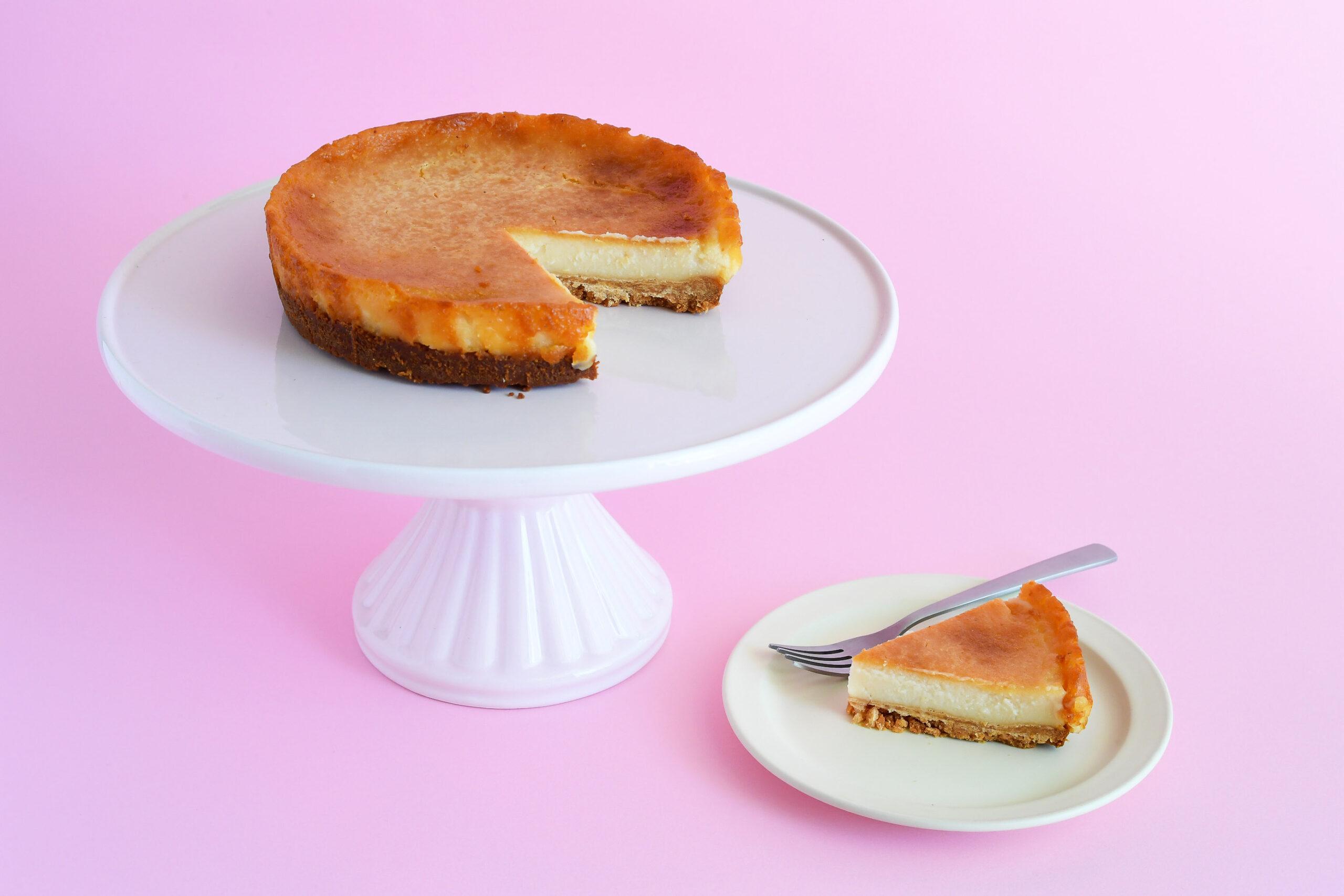 ヴィーガン&グルテンフリースイーツ チーズケーキ